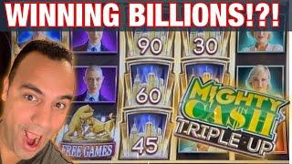 •️•️•️ Mighty Cash TRIPLE UP at Cosmo Las Vegas!!!   • • • • •
