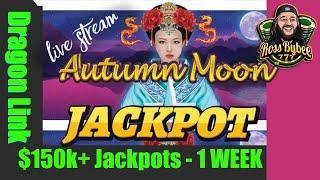 Autumn Moon Double Jackpot Handpay Bonuses Session LiveStream Bonuses Only