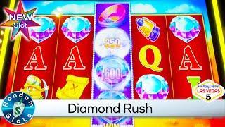 ⋆ Slots ⋆️ New - Diamond Rush Diamond District Slot Machine Feature