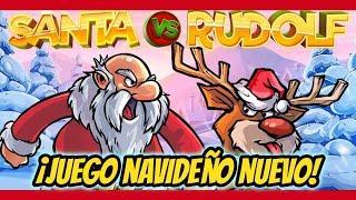 NUEVO TRAGAMONEDAS NAVIDEÑO ★ Slots ★ Santa VS Rudolf ! Juegos de Casino Gratis