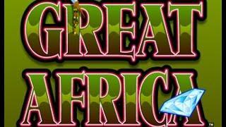 Great Africa Slot Bonus - Konami