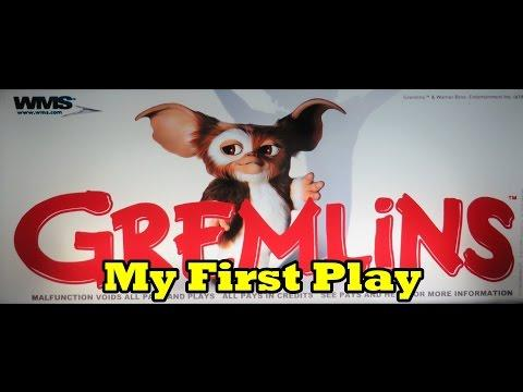 Gremlins - My First Play ... including progressive!