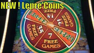 •BIG WIN ! NEW LEPRE'COINS ! •WILD LEPRE'COINS GOLD RESERVE Slot $135.00 Free Play Live•彡栗スロ