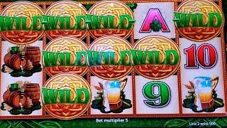 WILD Lepre'COINS Slot Machine •BIG WIN LINE HIT• | + Wonder 4 Tower WILD Lepre'COINS Live Play
