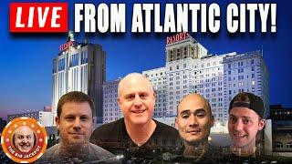 • LIVE Just Landed in Atlantic City! • LATE NIGHT LIVE PLAY