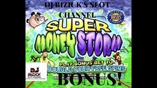 ~*** NICE WIN ***~ Super Money Storm Slot Machine ~ THROWBACK!!! • DJ BIZICK'S SLOT CHANNEL