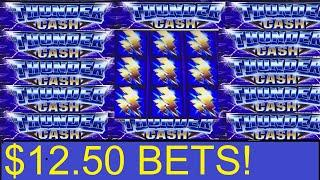 $200 THUNDER CASH LIVE! + 3 HIGH LIMIT BONUSES! AINSWORTH SLOT MAHCHINES!