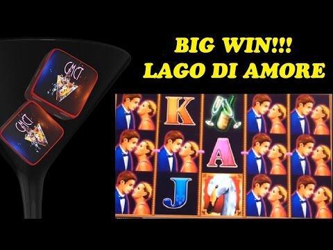 BIG WIN #TBT!  LAGO DI AMORE - KONAMI
