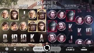 Planet of the Apes Slot - NetEnt Promo