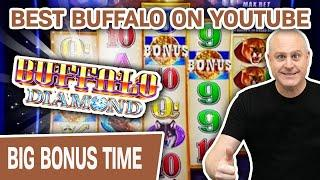 ⋆ Slots ⋆ BEST BUFFALO SLOTS ON YOUTUBE! ⋆ Slots ⋆ MINI BOOM Playing Buffalo Diamond