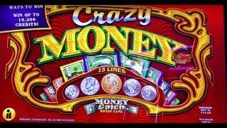 CRAZY MONEY High Limit ~ Price is Right ~ Timberwolf & BIG WIN at the end!  Slot Machines & Pokies