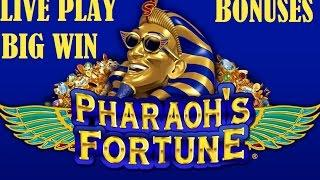Pharaoh's Fortune Live Play, Bonuses and Big Win Free Spins , Slot Machine, Pokie