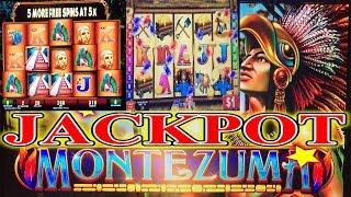 •  DOUBLE JACKPOT HANDPAY • MONTEZUMA - MONEY BLAST - ALIENS HIGH LIMIT SLOT MACHINE BONUS