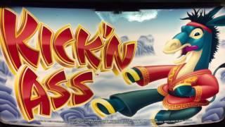 *KICK'N ASS on KICK'N ASS Slot Machine 2 Bonus Videos