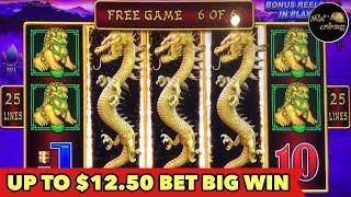 •️UP TO $12.50 BET•️LIGHTNING LINK SUPER WIN | ULTIMATE FIRE LINK | DRAGON LINK BONUS SLOT MACHINE
