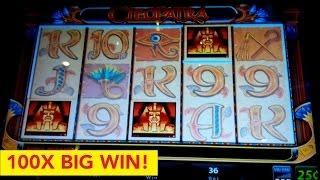 Cleopatra Slot $9 High Limit Bet 100X *BIG WIN* Bonus! MY BEST CLEOPATRA WIN!