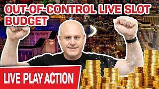 ⋆ Slots ⋆ MORE Live Slots at The Cosmo ⋆ Slots ⋆ OUT-OF-CONTROL High-Limit Gambling Slot Budget