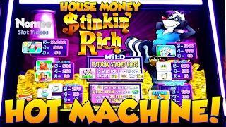 •HOUSE MONEY!!• Stinkin' Rich Slot Machine •Long Play with BIG PROFIT!!! ••