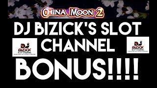 ~***  BONUS ***~ China Moon 2 Slot Machine ~ STREAMING STREAKS! • DJ BIZICK'S SLOT CHANNEL