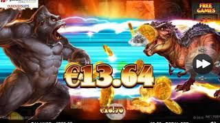 King Kong Fury by Nextgen exciting new slot.