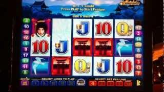 Geisha Power Play Free Spin Bonus Game