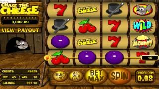 FREE Chase The Cheese ™ Slot Machine Game Preview By Slotozilla.com