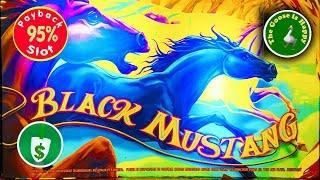 Black Mustang 95% payback slot machine, Nice Bonus