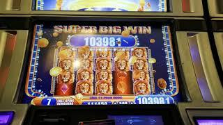 Just enough for a hand pay jackpot on King of Africa bonus slot machine