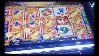 Legion Warrior Slot Machine Line Hit
