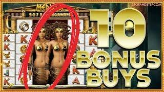 10 BONUS BUYS! Fishin' Frenzy Megaways & MORE!! - Online Casino Action !