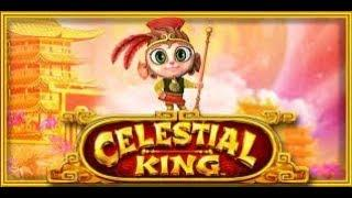 BIG WIN Celestial King Slot machine $4 bet max bet lightning link type bonus pokie