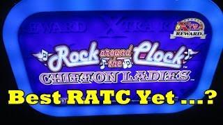Rock Around The Clock!  Chiffon Ladies!