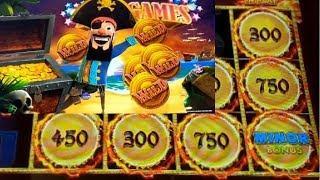 OVER 100X• BIG WIN •AUTUMN MOON• FIRST EVER BONUS •PIRATE COIN!!