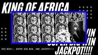 Jackpot and Progressive/King of Africa by WMS Big Wins,Super Big Wins and More/Minimum Bet - Max Bet