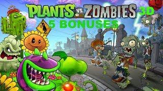 BIG WIN - Plants vs. Zombies 3D Slot Machine Bonus - 5 Bonuses!