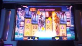 Emperor and Pharoah (WMS) - 100 spin Bonus Round - Big Win