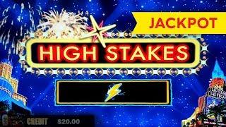 JACKPOT HANDPAY! Lightning Link High Stakes Slot - $25 Max Bet - HIGH LIMIT ACTION!