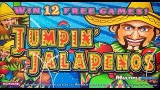 Konami - Jumpin' Jalapenos Slot Line Hit