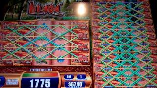 Lil Red Slot Machine Bonus + Retrigger - Colossal Reels - 16 Free Games w/ Nudging Wilds - Nice Win
