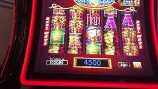 *NEW GAME* Part 2 of 2 - Dancing Drums - max bet live play plus handpay !!