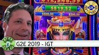 Scarab Link, Slot Machine Preview #G2E2019 IGT