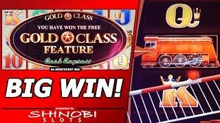 Gold Class Cash Express - Big Win in Train Bonus