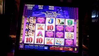 Slot bonus win on Harlequin Hearts at Parx Casino