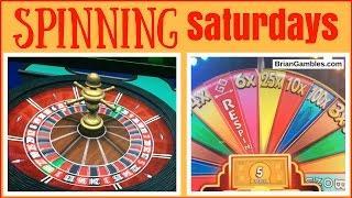 Roulette + Super Monopoly Money + Cash Wheel • SPINNING SATURDAYS • Slot Machine Pokies