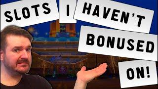 Playing Slots IVE NEVER BONUSED ON At Grand Casino Hinkley!