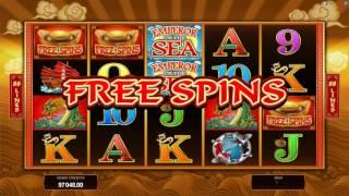 Emperor of The Sea Slot Features and Game Play - by Microgaming