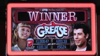 GREASE® video slot from Bally Technologies