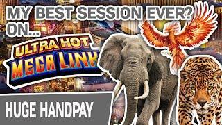 ⋆ Slots ⋆ My BEST Ultra Hot Mega Link Session EVER? ⋆ Slots ⋆ FOUR Handpays @ Cosmopolitan LAS VEGAS