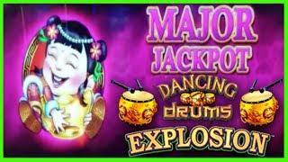 • MAJOR JACKPOT • DANCING DRUMS EXPLOSION • HANDPAY •