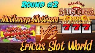 Summer Sizzle Slot Tournament Round #2 - Super Wheel Blast Slot Machine